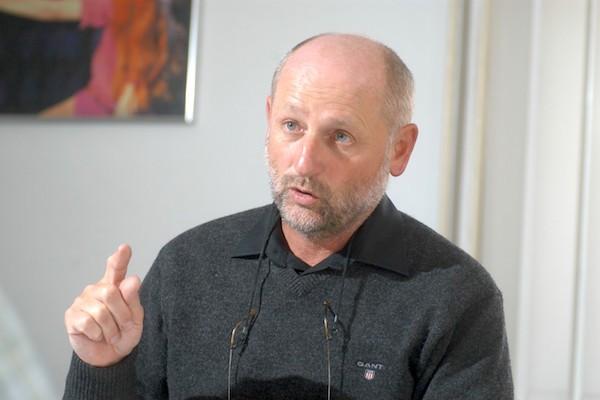Jiří Balvín v roce 2011 jako ředitel televize Óčko. Foto: Profimedia.cz