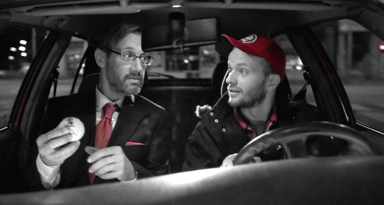 David Matásek a Vladimír Škultéty v seriálu Pizza Boy