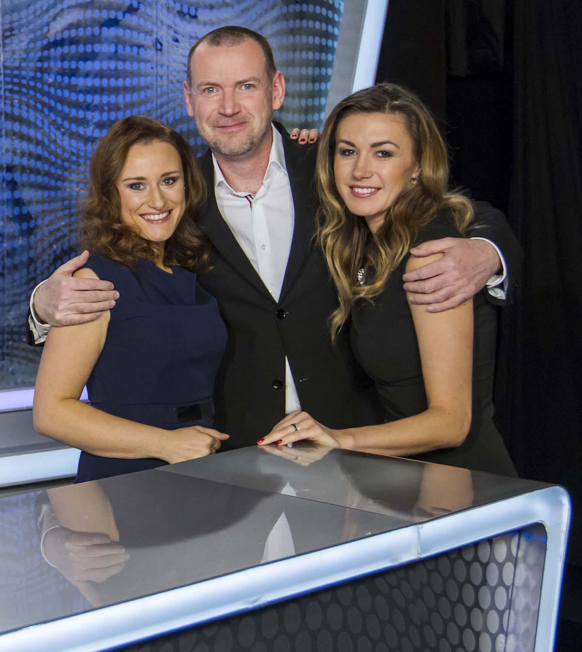 Zleva Petra Květová Pšeničná, René Hnilička a Žaneta Muchová. Foto: TV Barrandov