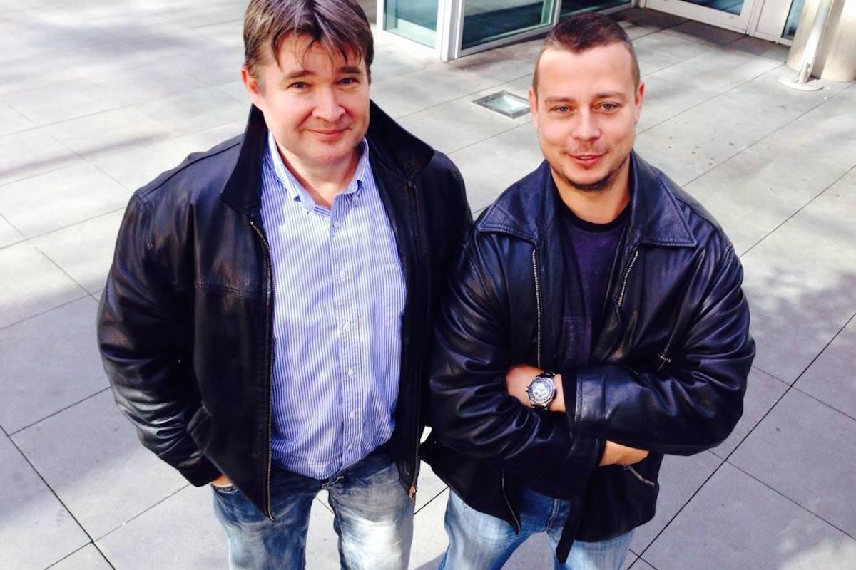 Zdeněk Šustr a František Nachtigall, šéfredaktor Tématu a ředitel strategie Mafry. Foto: Silvie Králová
