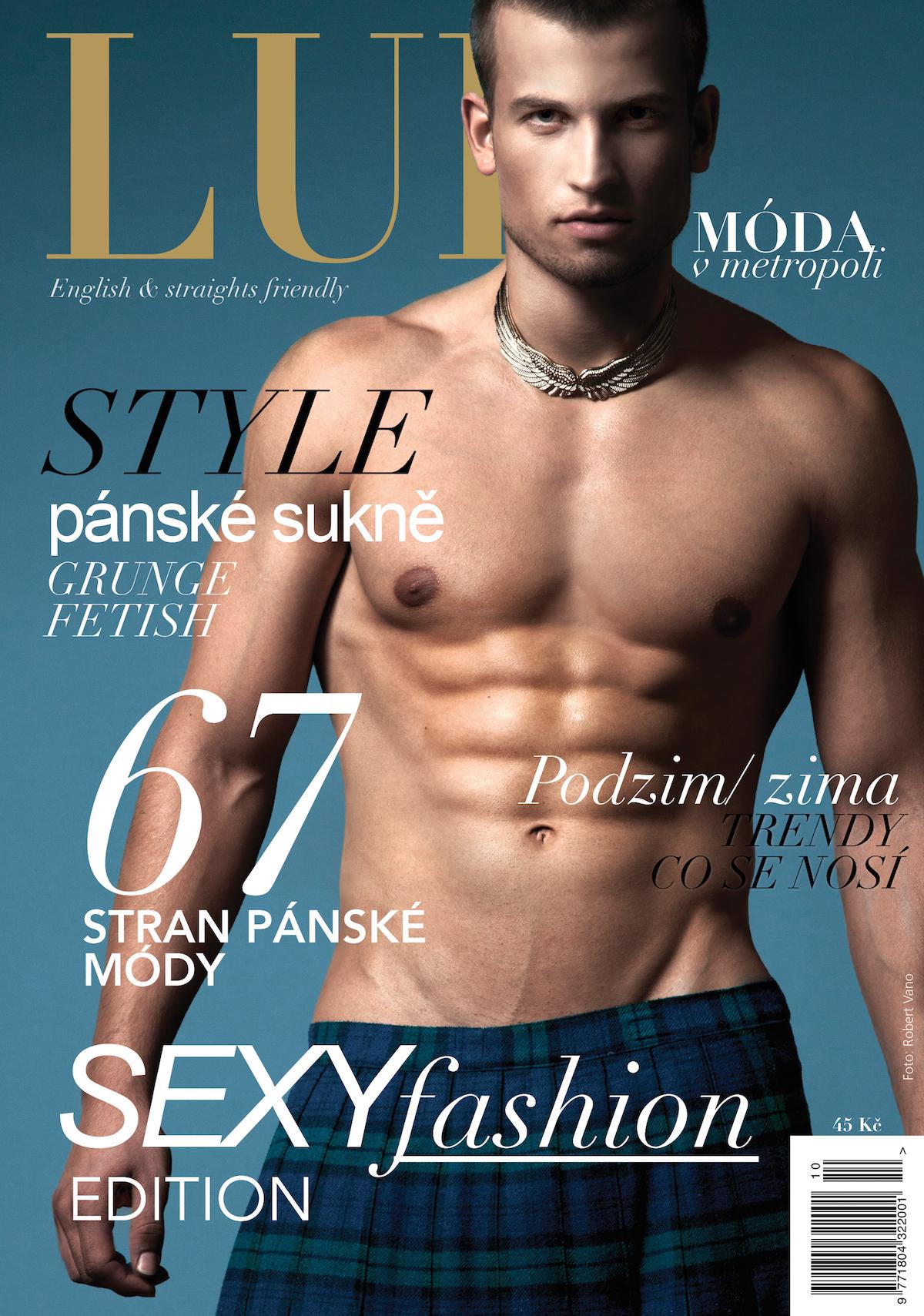 Předchozí podoba magazínu Lui