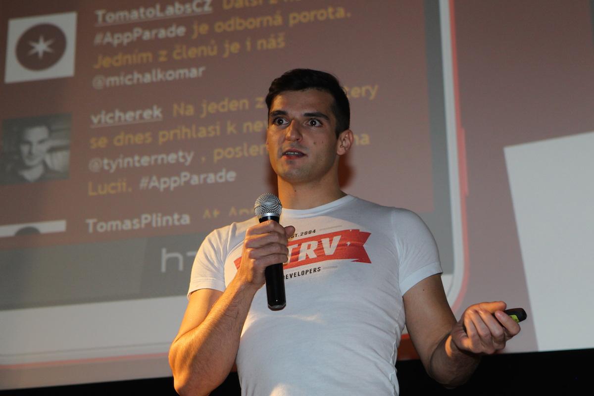 Lubo Smid ze STRV. Foto: Tomáš Pánek