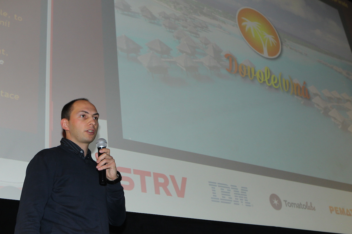 Tomáš Valenta přišel s Dovolevnou. Foto: Tomáš Pánek