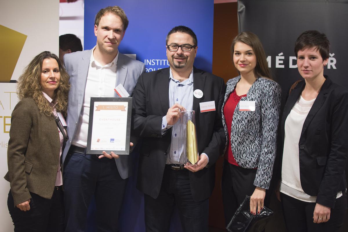 Agentura Eventhouse oceněna za práci českobudějovickou TOP 09