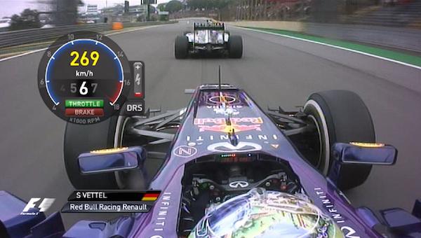 Záběry z kokpitu Formule 1