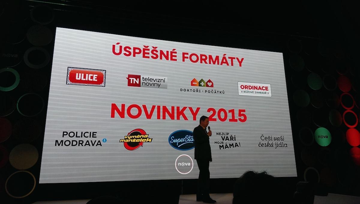 Šéf Novy Christoph Mainusch prezentuje novinky