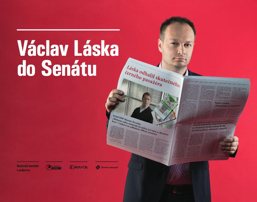 Václav Láska do Senátu