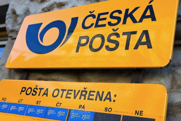 Česká pošta. Foto: Profimedia.cz