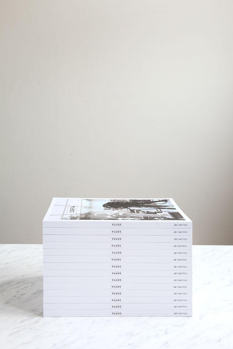 Tištěná verze časopisu Soffa