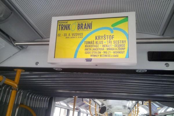 Bus TV začíná v MHD dávat pořady