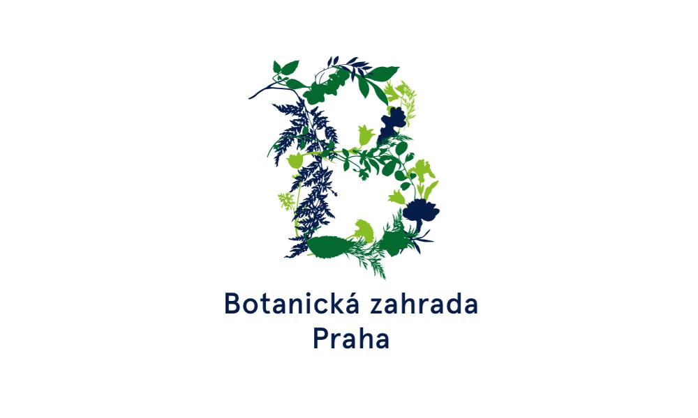 Nová značka Botanické zahrady Praha od Studia Najbrt
