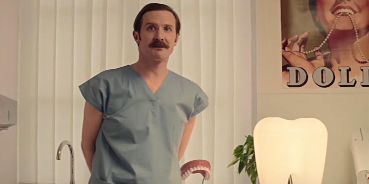 Prozíravý dentista ze spotu Komerční banky