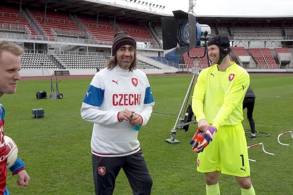 T-Mobile ukáže fotbal z pohledu hráčů, z kamer GoPro