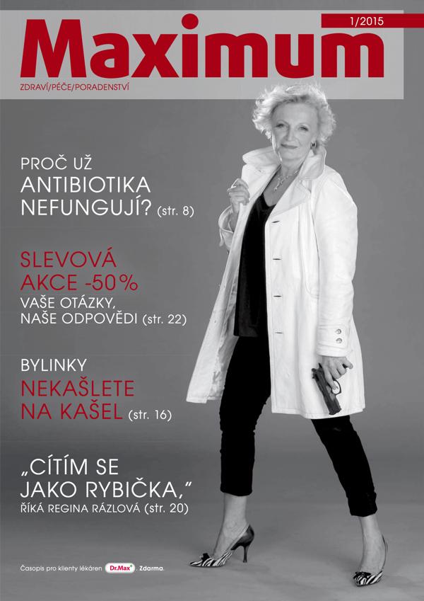 Inovovaná titulní strana magazínu Maximum