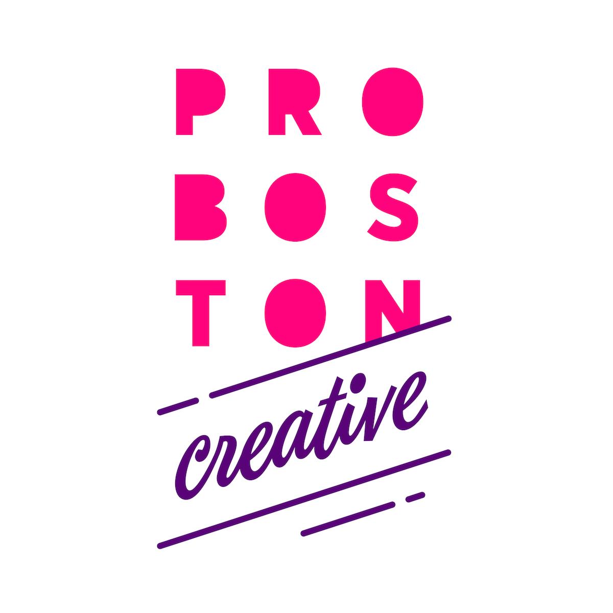 Nové logo Proboston Creative