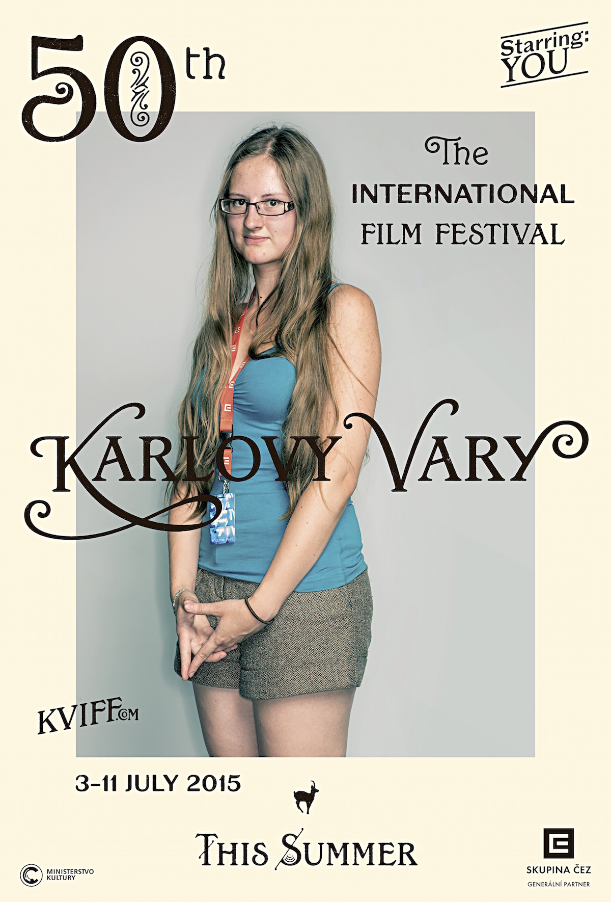Logo 50. filmového festivalu v Karlových Varech