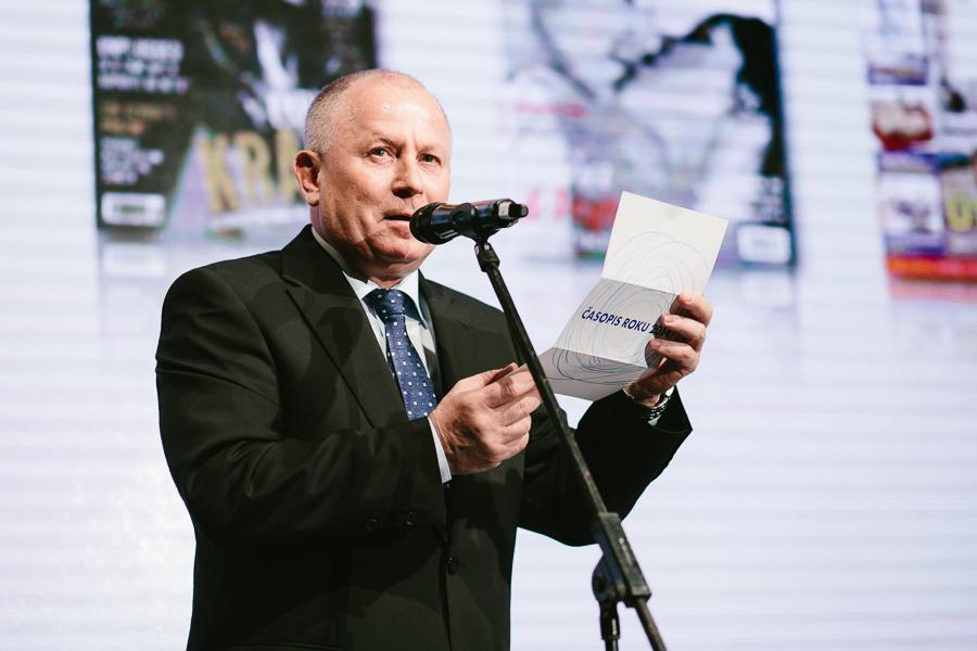 Ředitel vydavatelské unie Jozef Šabla. Foto: Unie vydavatelů