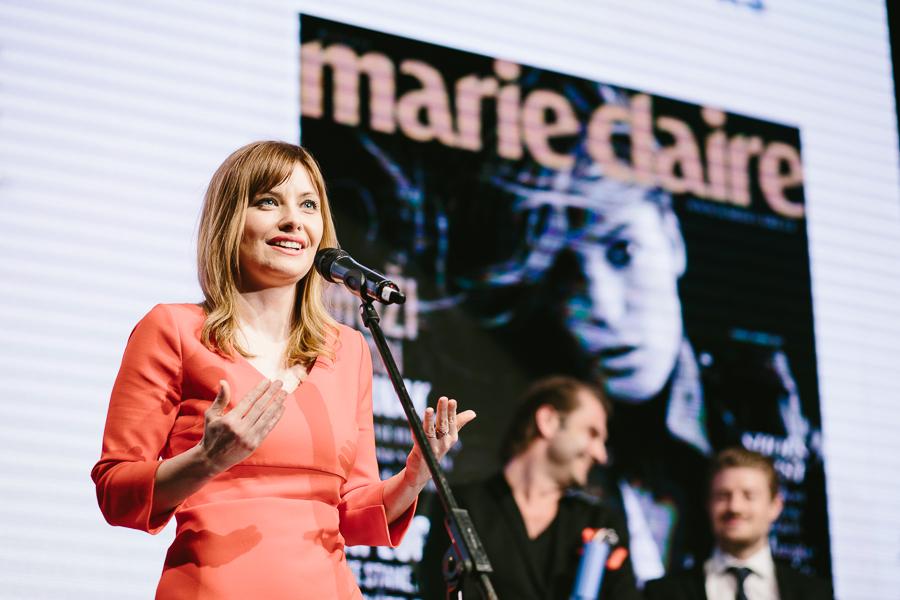 Marie Claire hvězdou roku. Foto: Unie vydavatelů
