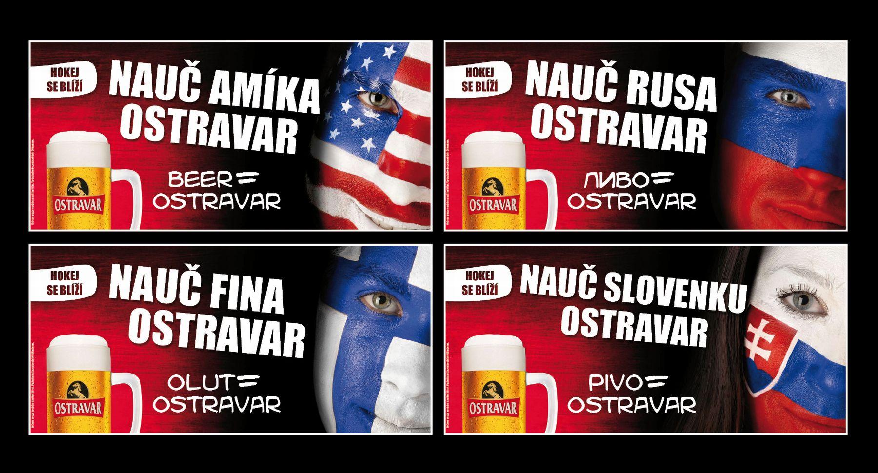 Kampaň Ostravaru k hokejovému mistrovství