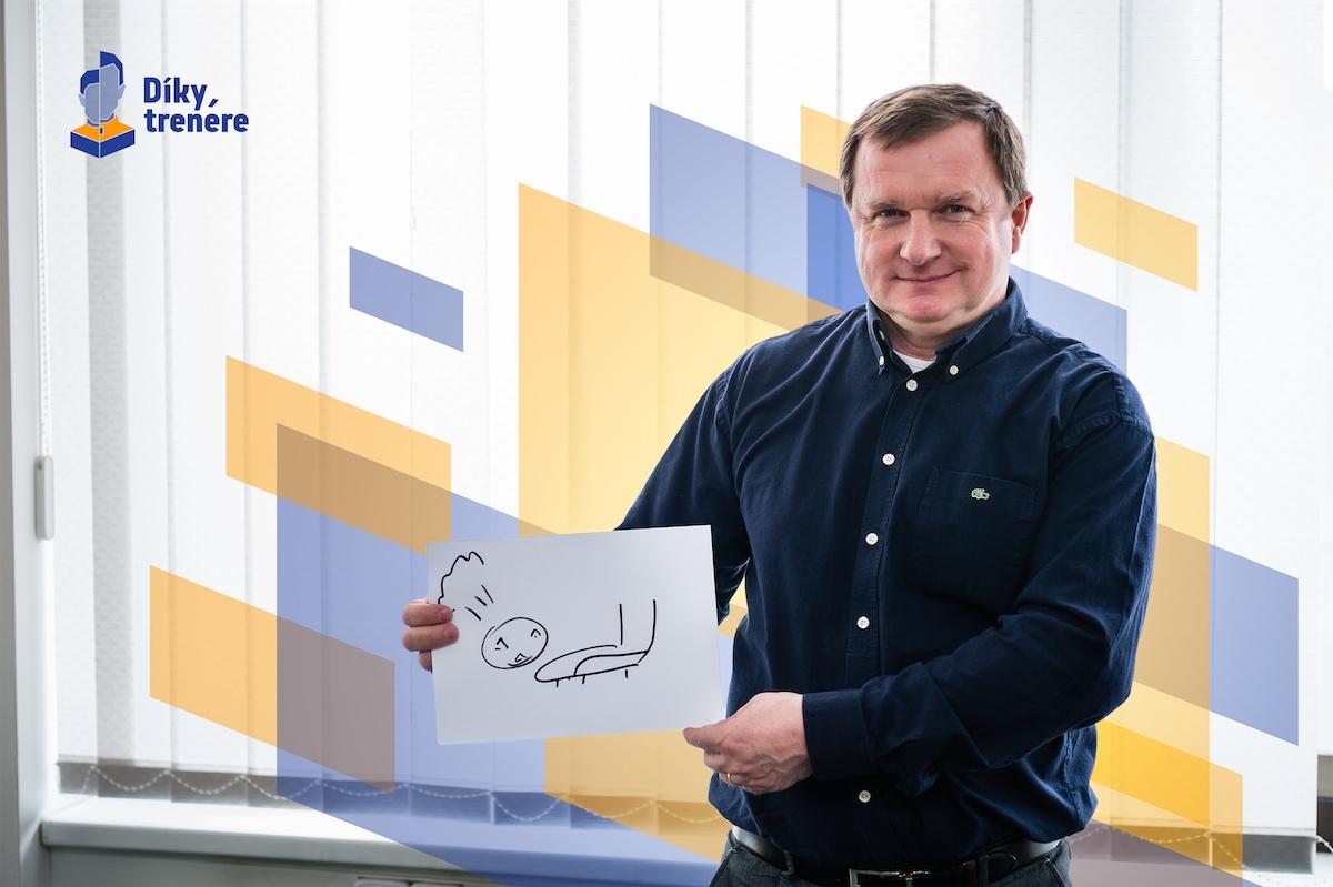 Pavel Vrba v projektu Díky, trenére