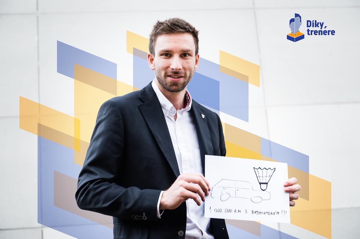 Petr Koukal v projektu Díky, trenére