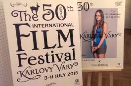 Padesátý karlovarský festival odhalil logo