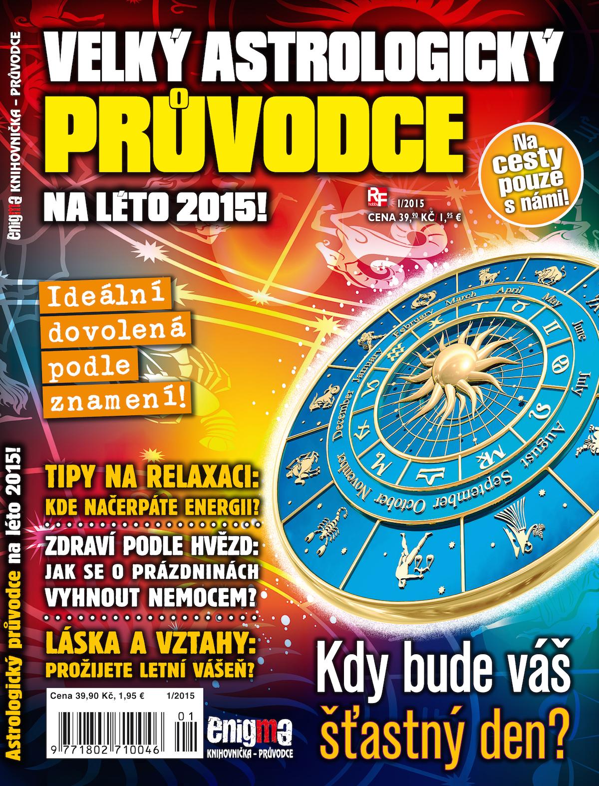 Velký astrologický průvodce 2015