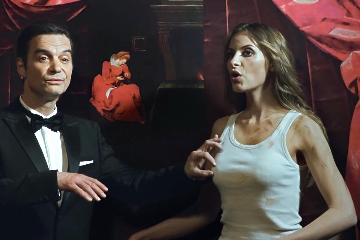 Ivan Trojan v reklamním filmu T-Mobilu