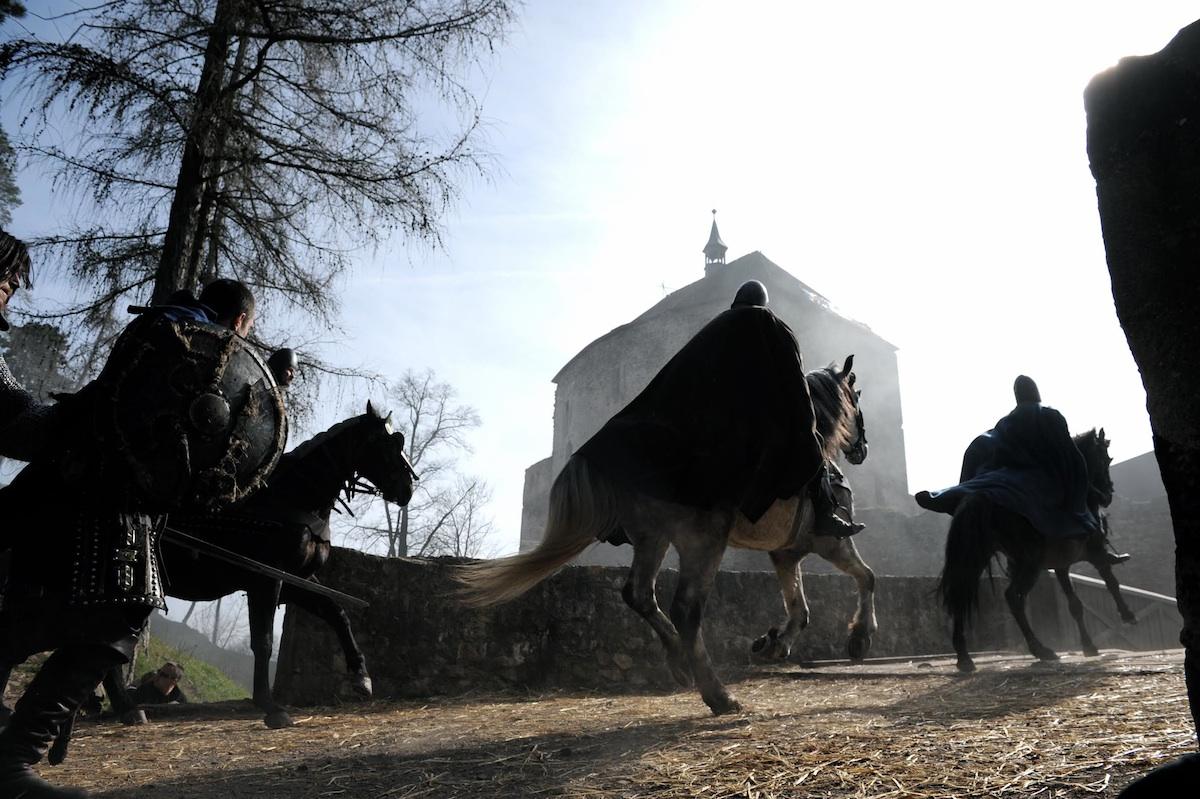 Hrad Točník je často využívanou filmovou kulisou.