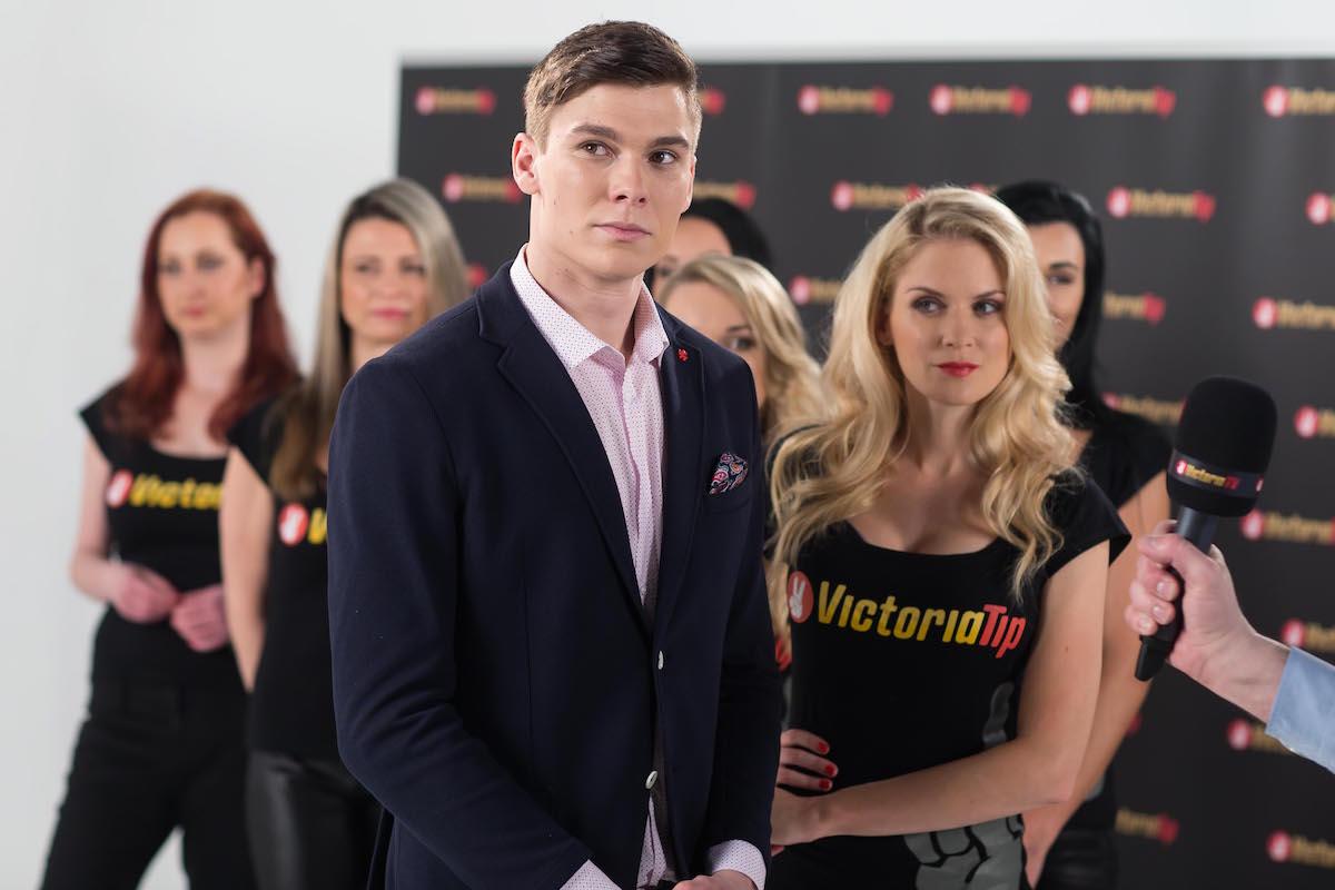 Desetibojař Kajetán Čásenský v kampani Victoria Tip