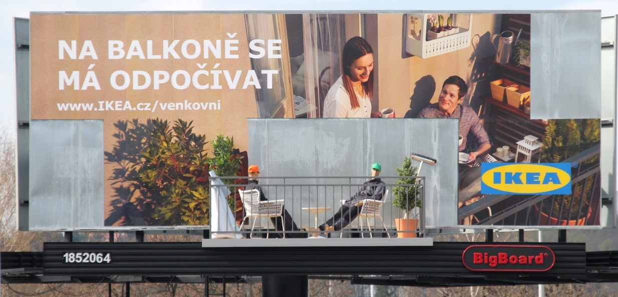 Aktuální kampaň značky Ikea