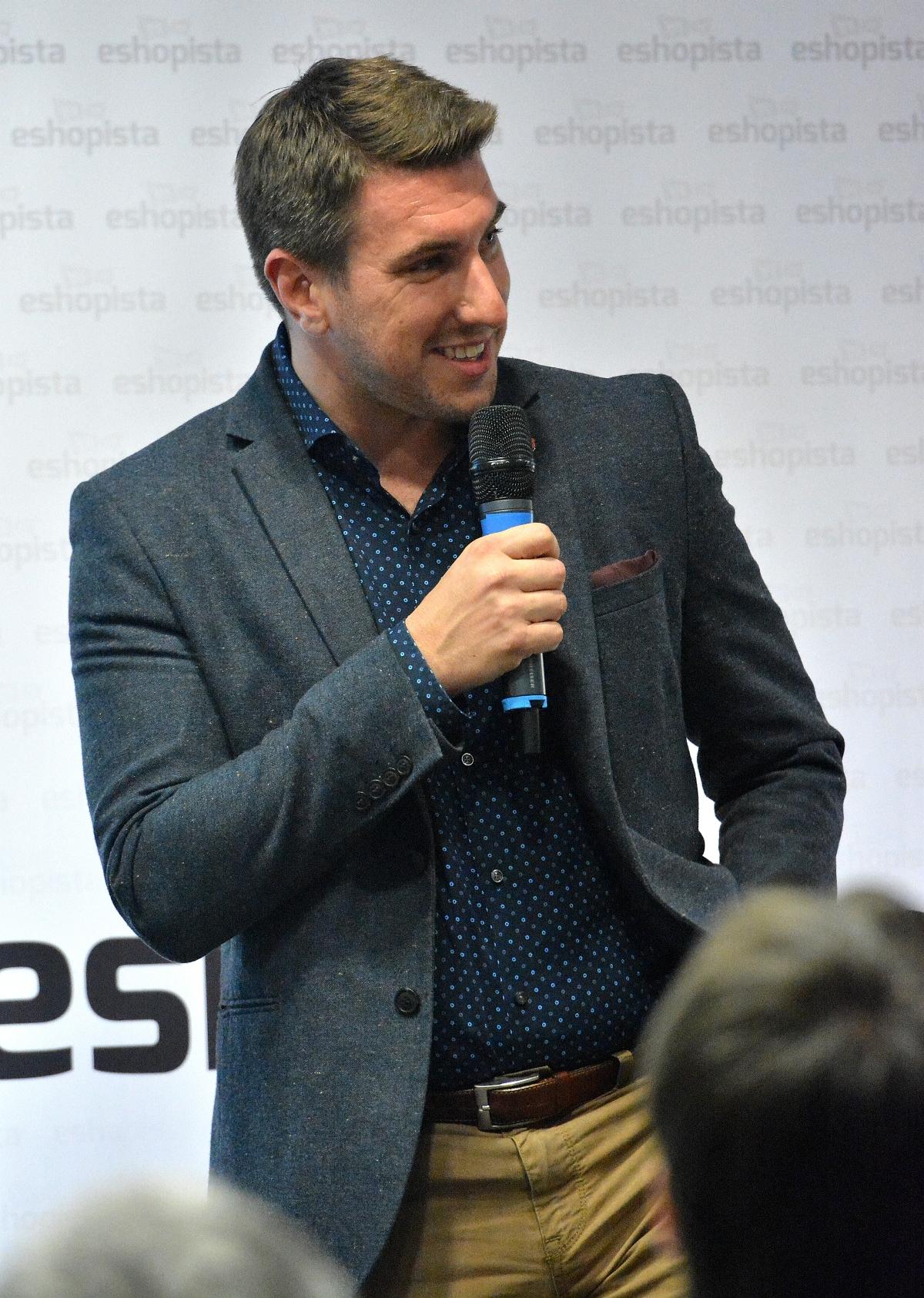 Tomáš Čupr na debatě z cyklu Eshopista