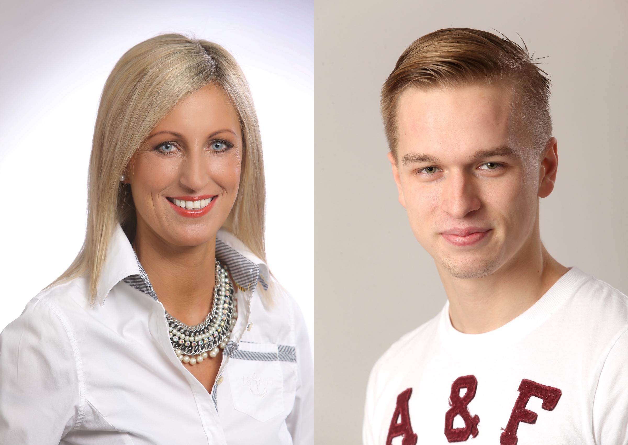 Markéta Daems a Lukáš Soukup. Foto:  TV Barrandov