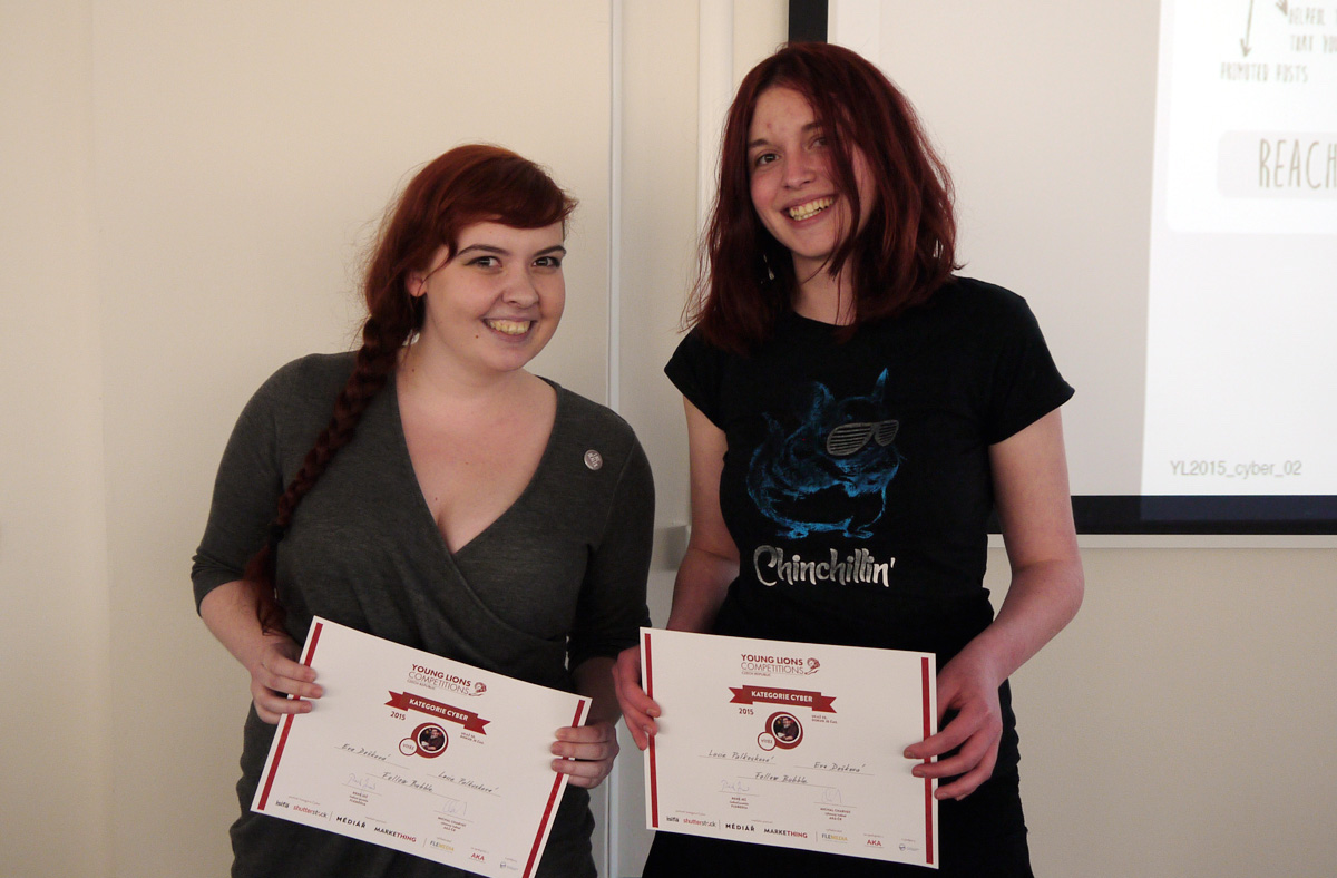 Vítězky Eva Došková a Lucie Palkosková. Foto: Jan Marcinek
