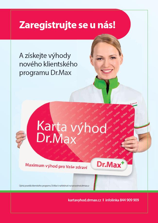 Z kampaně značky Dr. Max od Wundermanu