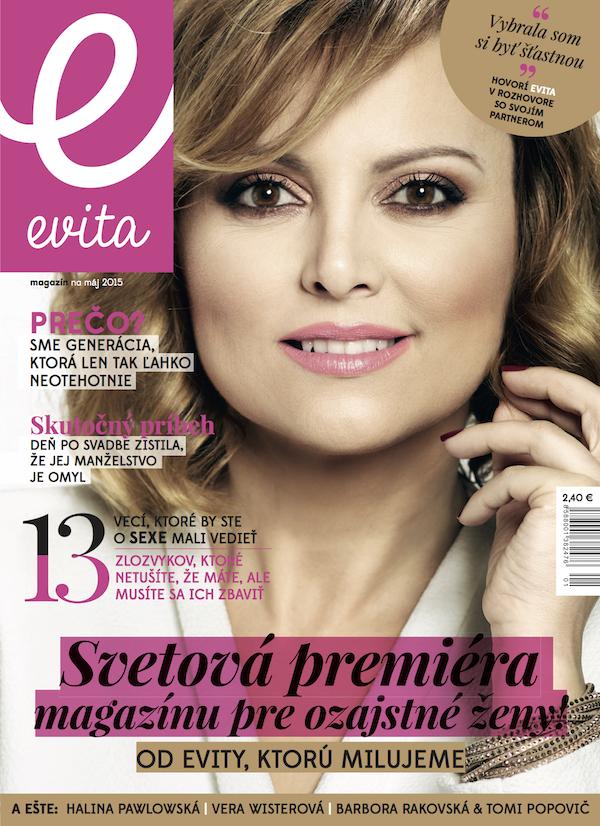Nový časopis Mafry, slovenská Evita