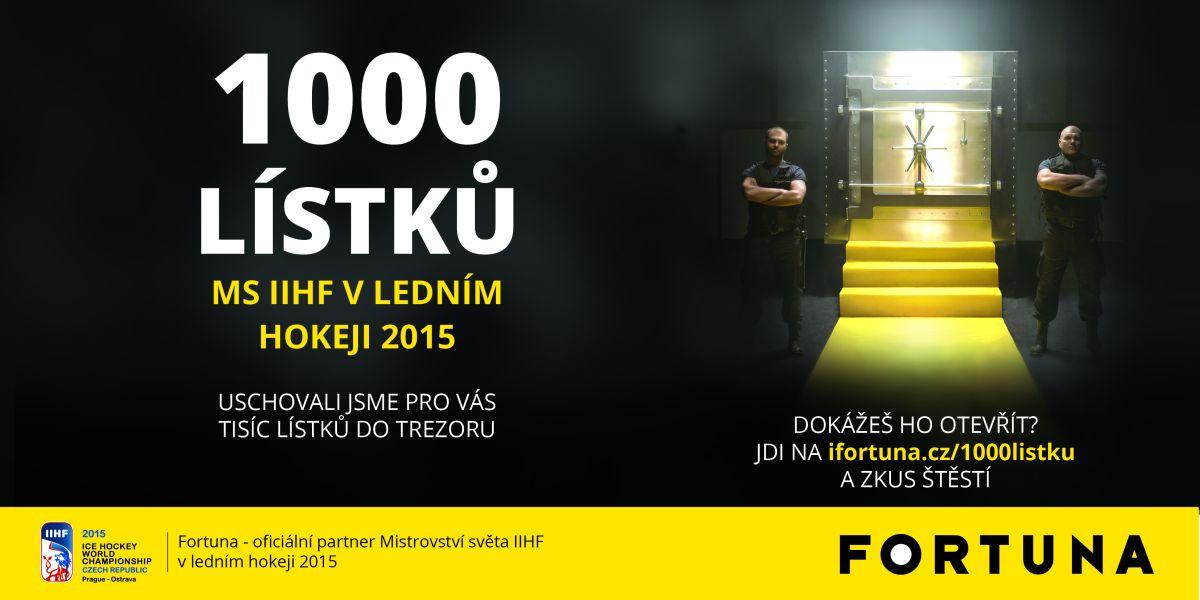 Fortuna spustila kampaň s obřím trezorem