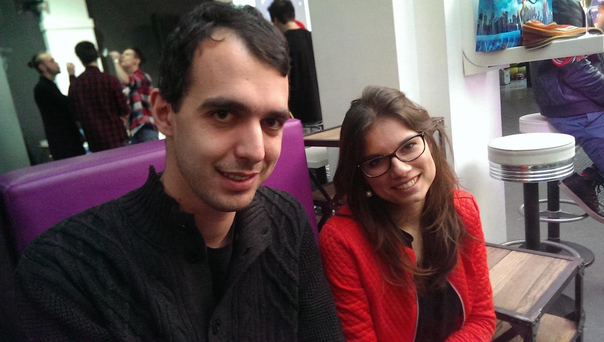 Tomáš Gavlas a Andrea Hurychová, organizátoři festivalu Utubering