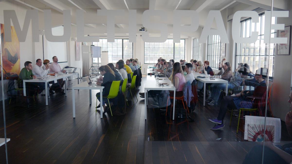Soutěž Young Lions letos celý týden hostí prostor Global Centrum na Praze 9, mimo jiné sídlo Médiáře. Foto: Jan Marcinek