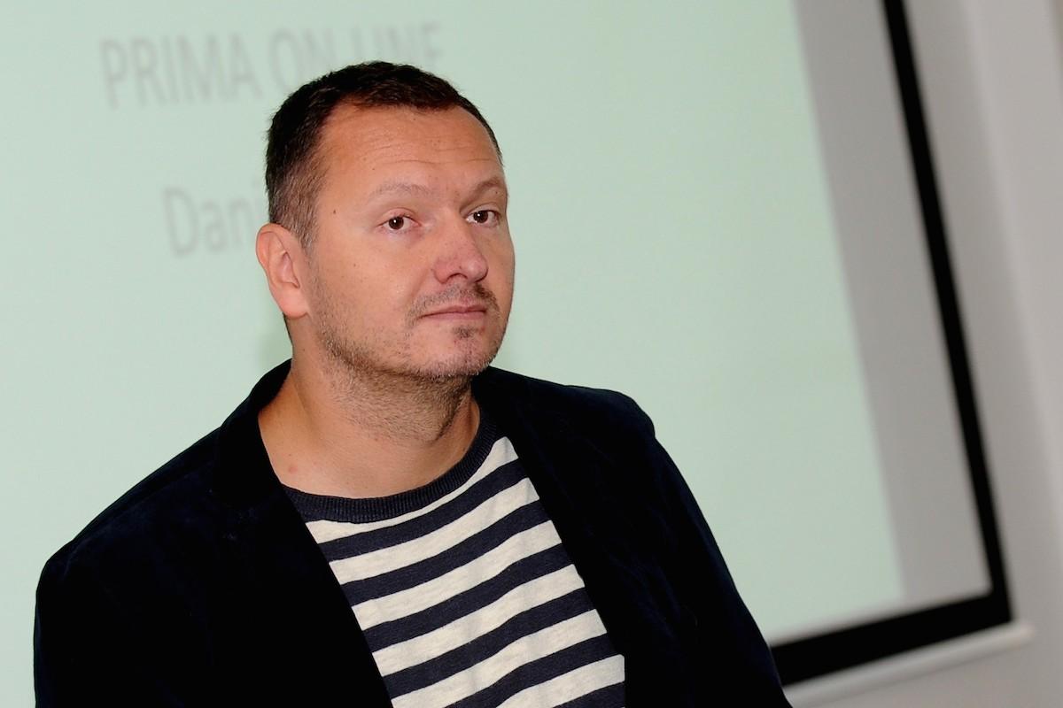 Daniel Grunt v říjnu 2014 na konferenci Médiáře o videoreklamě