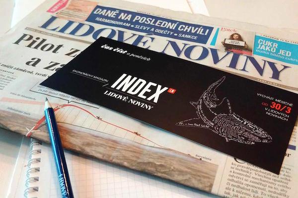 Mafra: první Index zvýšil prodej LN o 2.400 kopií