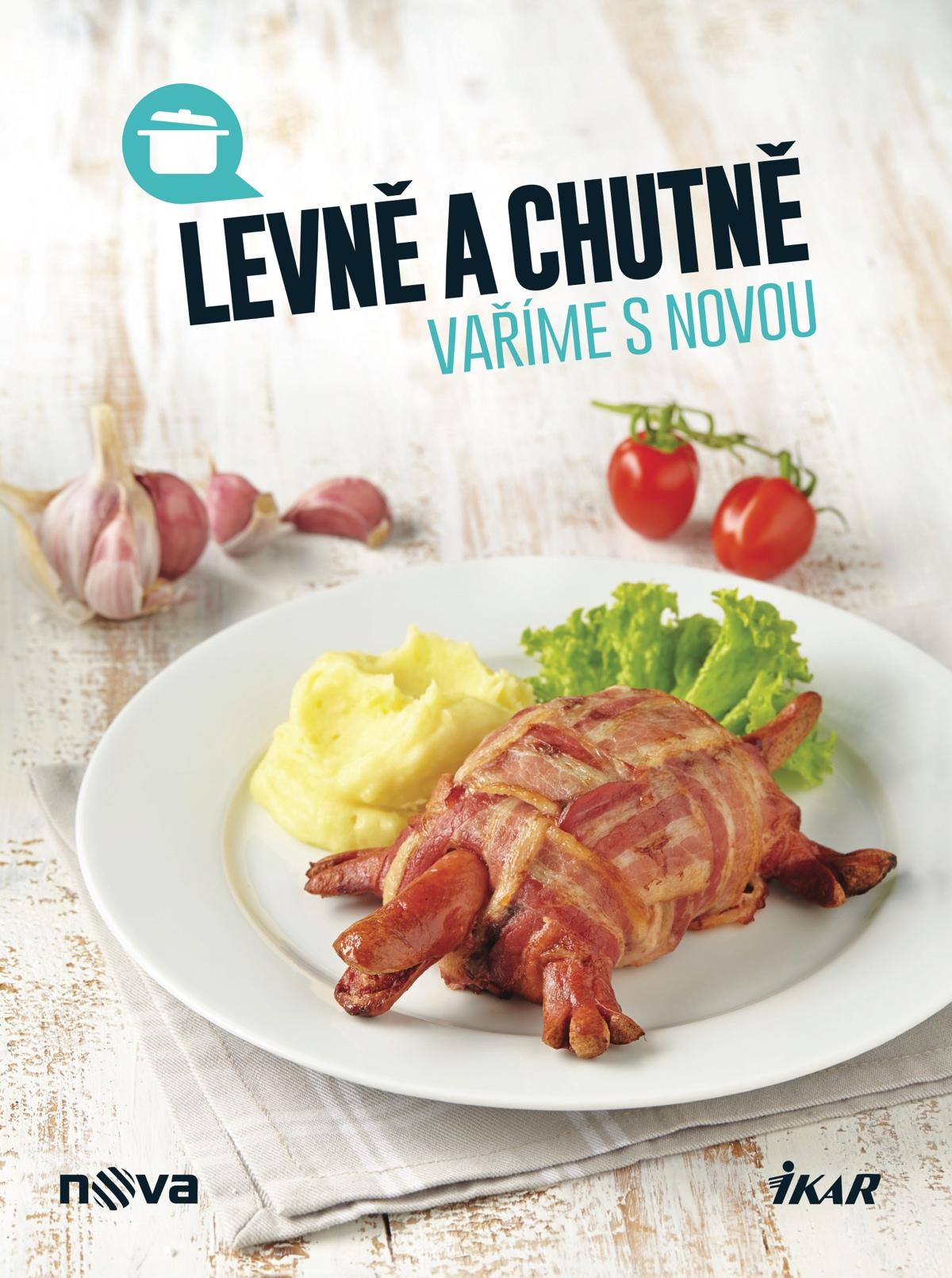 Titulní strana další kuchařky televize Nova
