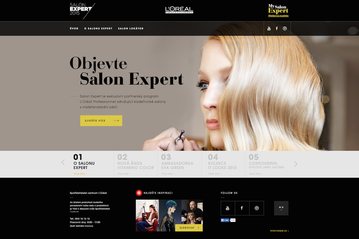 Web Salon Expert