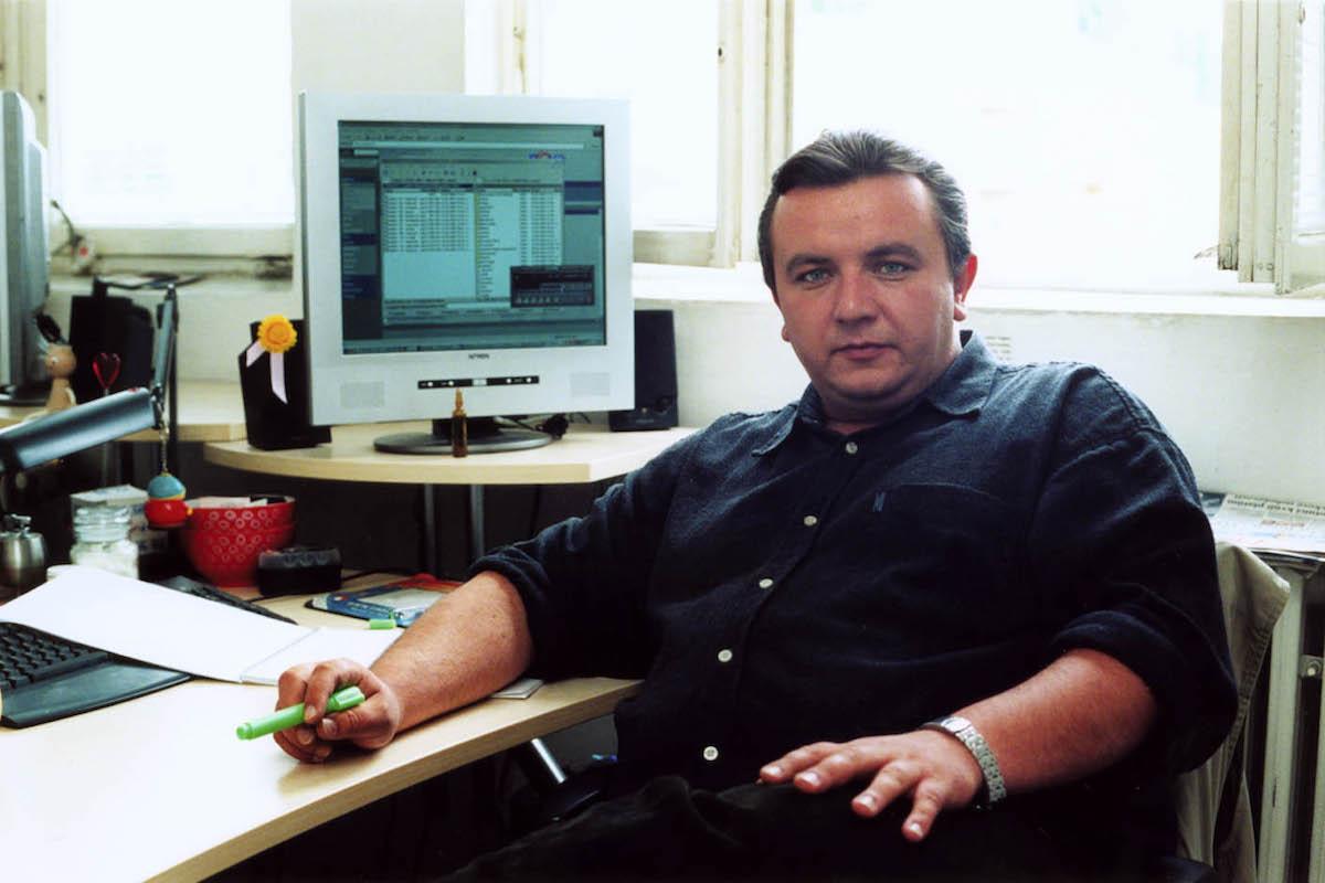 Martin Ondráček v minulé dekádě jako mladý mediální manažer