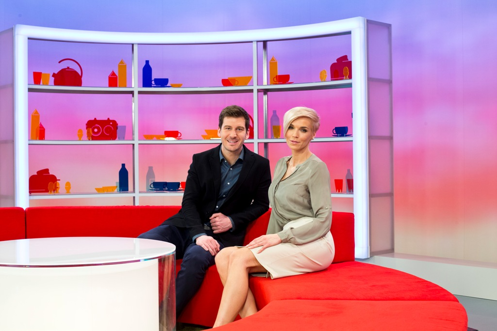 Petr Říbal a Hana Mašlíková. Foto: TV Nova