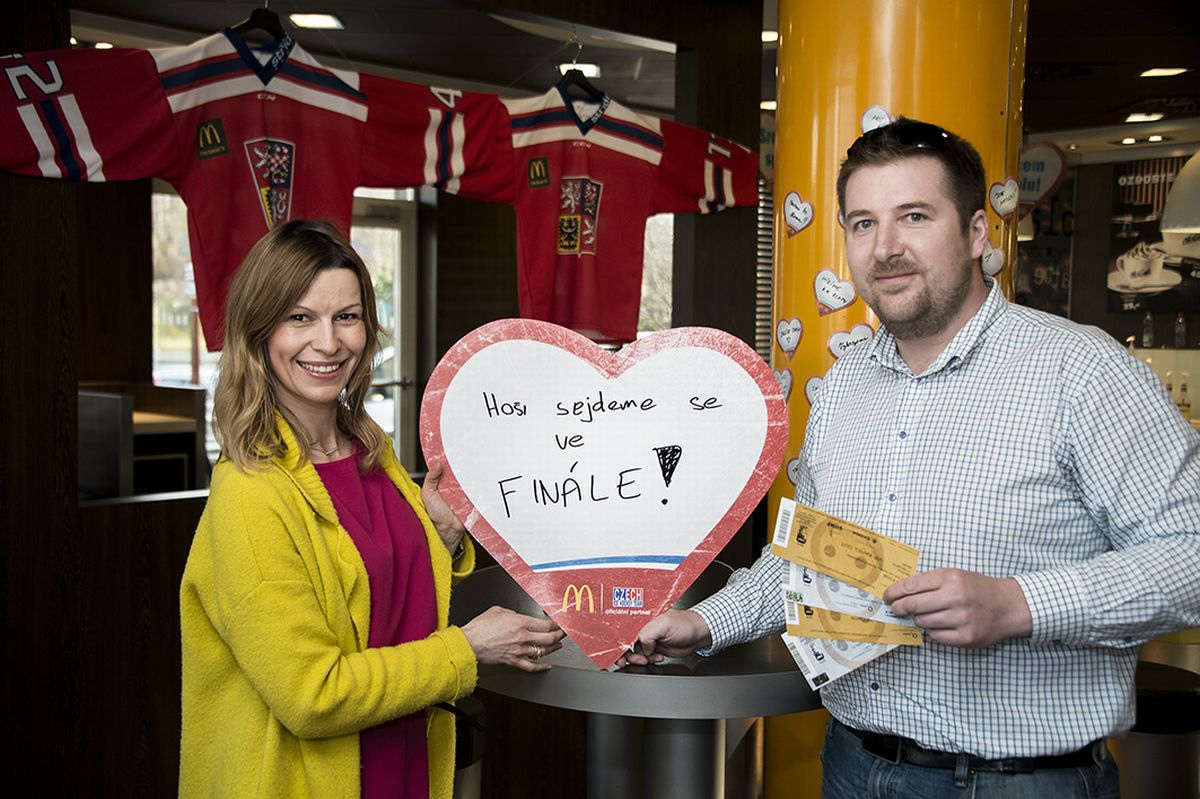 Vítěz soutěže McDonaldu uvidí finálový zápas