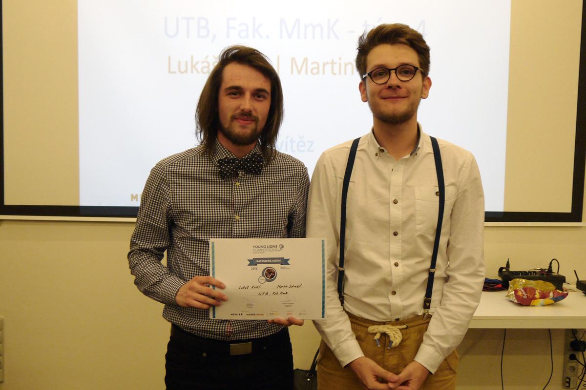Vítězové Lukáš Krčil a Martin Zdražil. Foto: Jan Marcinek