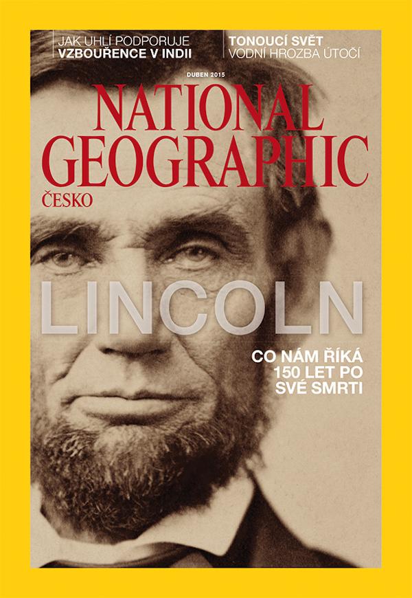 Titulní strana National Geographic bude od dubna 2015 matná
