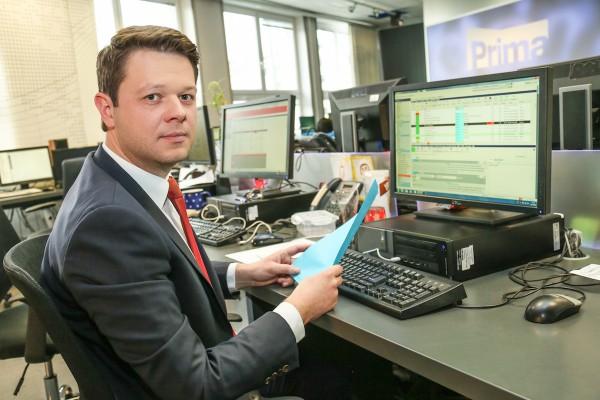 Zprávy Primy uvádí Štrunc, Hauptvogel havaroval