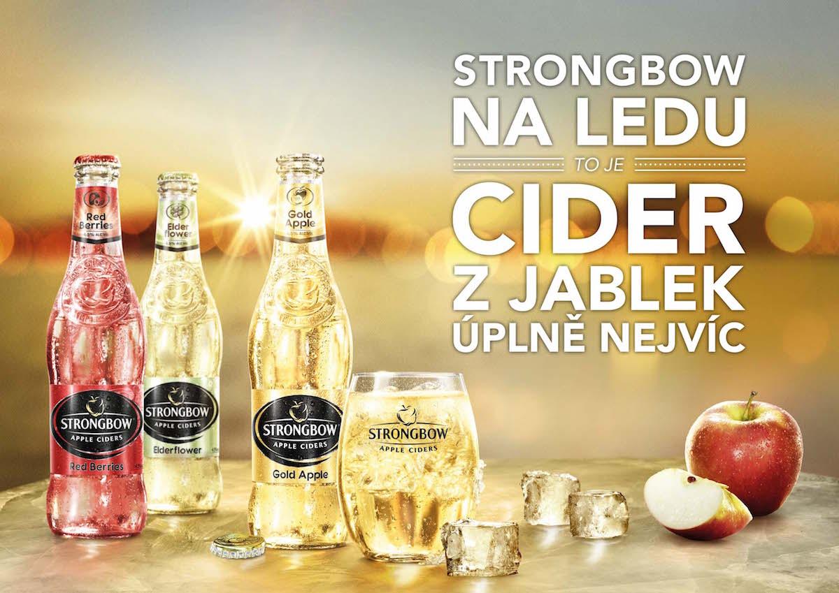 Podpora prodeje ciderů Strongbow